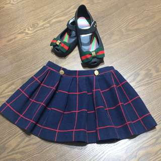 ZARA scottish skirts