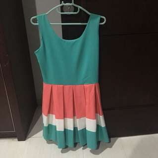 3 color dress