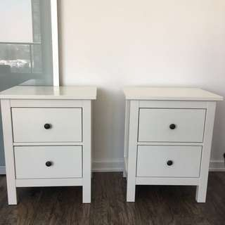 IKEA side tables/ night stands