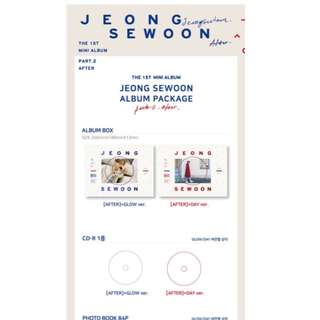 (24/1) GO Jeong Se Woon 1st mini album part 2