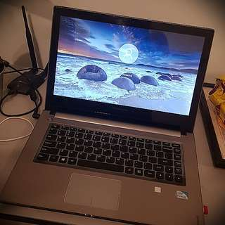 "Lenovo ideapad Z400 TOUCH 14"" screen Notebook Laptop"