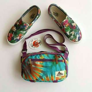 Gregory Transfer Shoulder Vans Floral