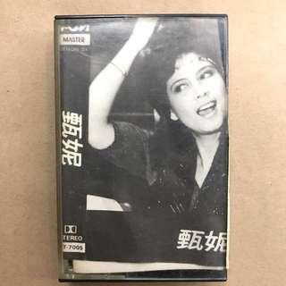 甄妮 1981 卡式帶 Cassette 卡式錄音帶