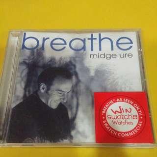 Music CD :  breathe midge ure