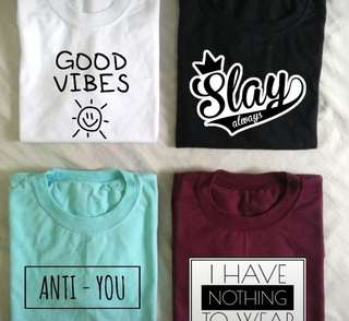 Cool T-Shirts: we customize and accept bulk orders!!!