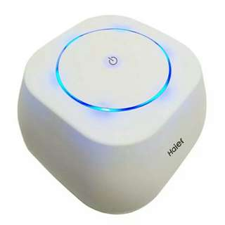 海爾空氣淨化器家用迷你桌面除霧霾二手煙PM2.5辦公室小型淨化器