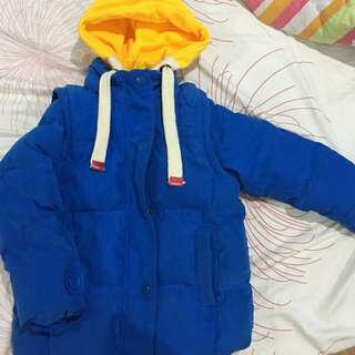 Kid boy sweater winter coat