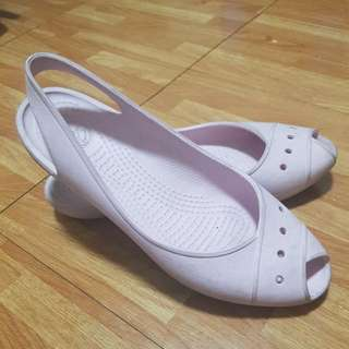 Crocs Baby Pink Doll Shoes