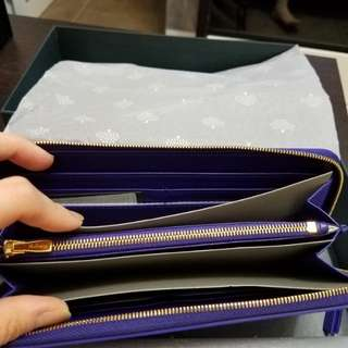 mulberry long slip wallet