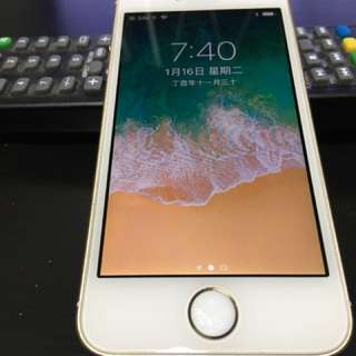 iPhone SE 64gb 金色