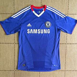 Authentic Chelsea Home kit jersey 10/11