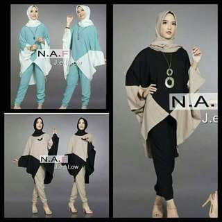 Fc set 3in1 jellow batwing mus
