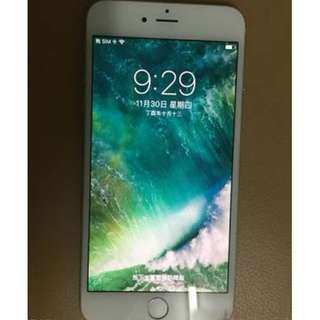 Iphone 6 plus 64gb 銀色 8成新