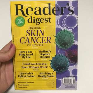 Reader's Digest May 2016