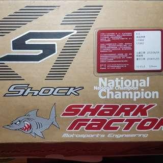 鯊魚k1s 後避震