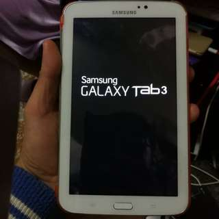 Samsung Galaxy tap 3  sm t 210 (only wifi no sim) (see & read my carousell information other mobile)