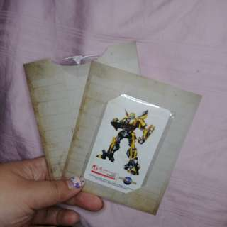 #Contiki2018 Universal Studios Transformers EZ Link