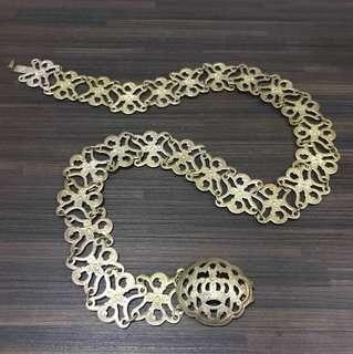 Silver Peranakan Vintage Belt