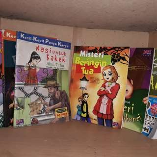 Sale! Novel anak KKPK dan Dar! Mizan