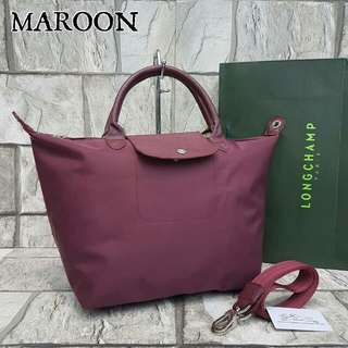 Longchamp Neo Large Maroon Color
