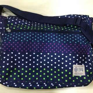 Old Navy Girls Canvas Messenger Bag