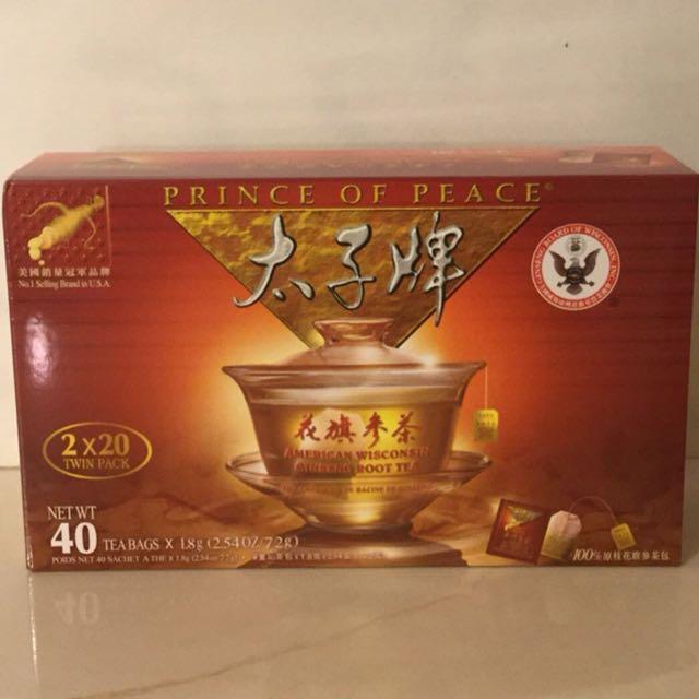 全新到貨🙏美國花旗蔘茶2盒組