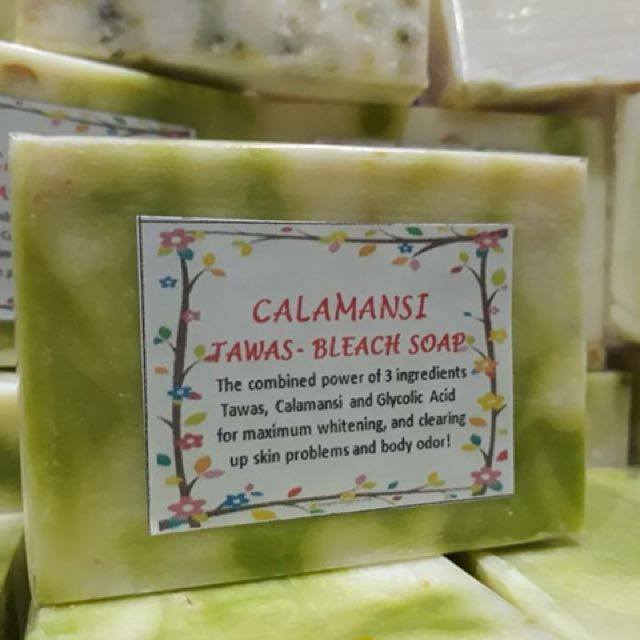 3 for 100.00 - calamansi-tawas soap and other variants