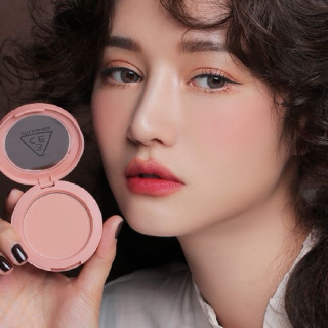 3ce Mono Pink Blush Authentic Health Beauty Makeup On Carousell