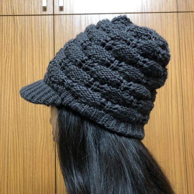 毛帽-深灰色