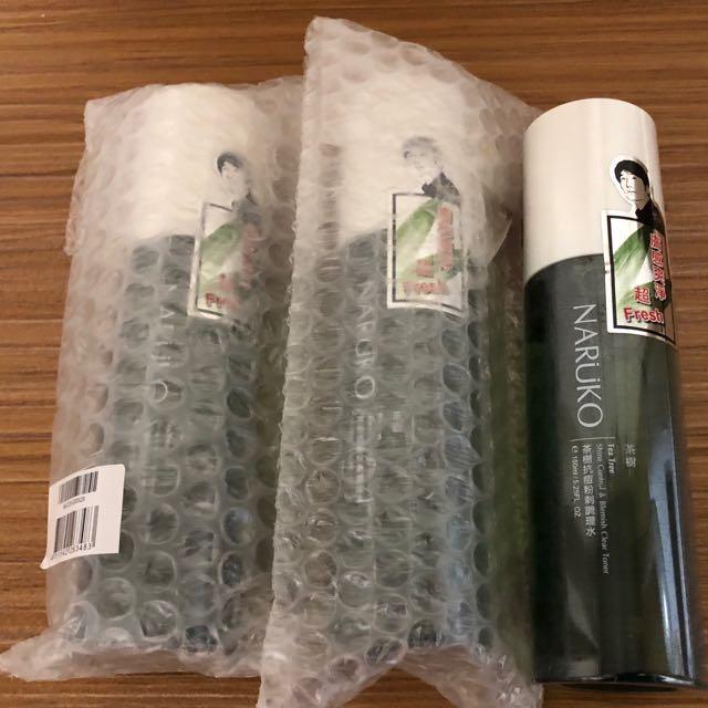 茶樹抗痘粉刺調理水(單瓶),共有三瓶