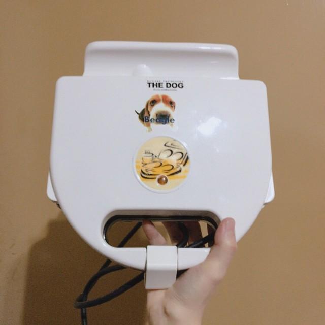 大頭狗 鬆餅機