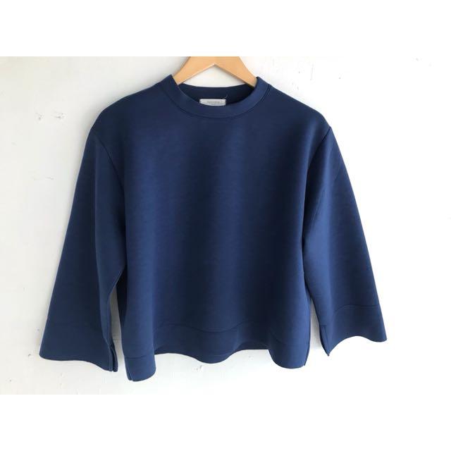 正韓 超美太空藍上衣