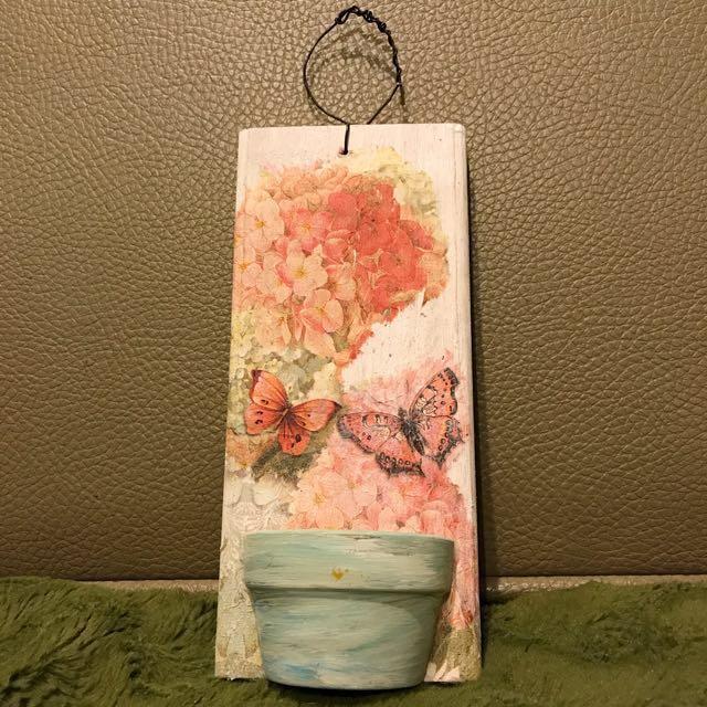 手工木板掛飾 裝飾品 吊飾