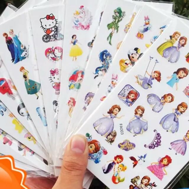 免運 兒童貼紙 平面貼紙 獎勵貼紙