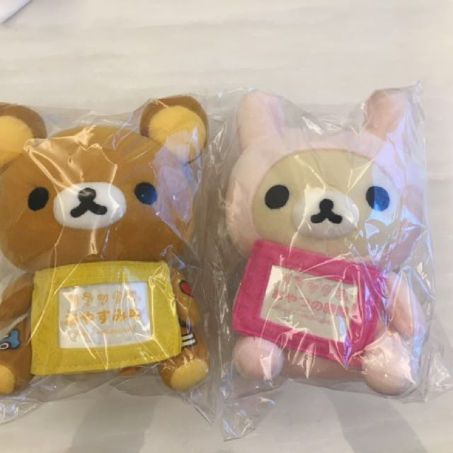 全新 拉拉熊 懶懶熊 日本正貨 告示牌