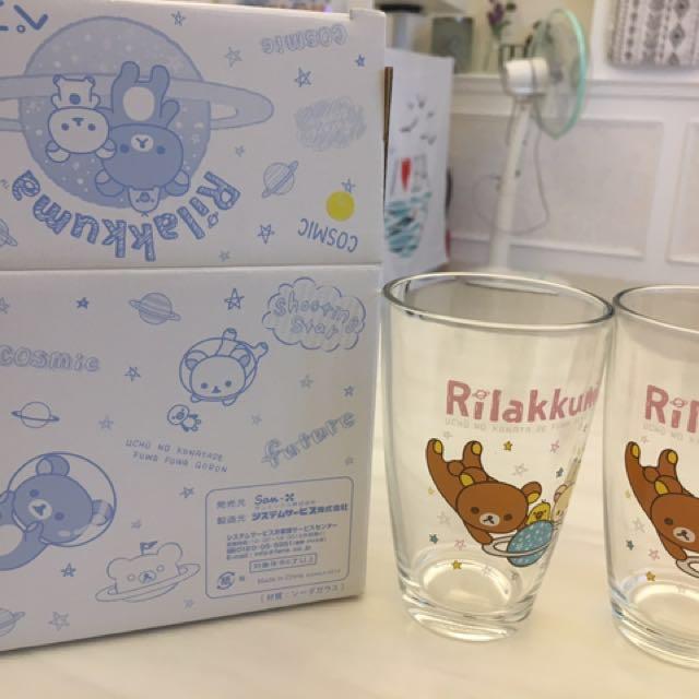 全新 拉拉熊 懶懶熊 日本正貨 星空 杯子