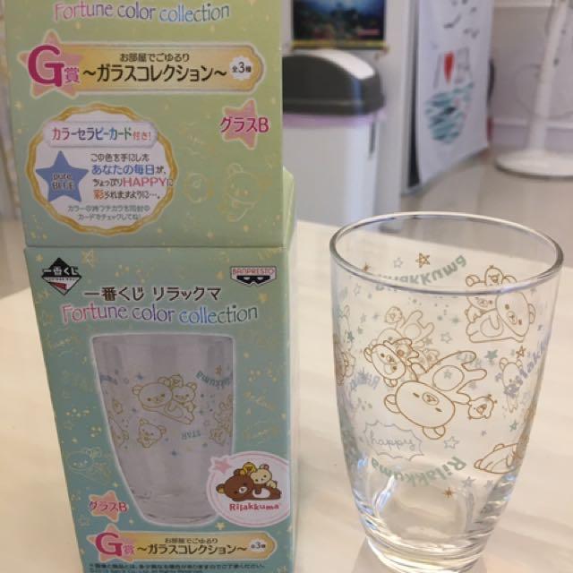 全新 拉拉熊 懶懶熊 日本正貨 一番賞 杯子