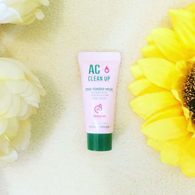 🍃 ETUDE HOUSE AC Clean Up Pink Powder Mask 💚