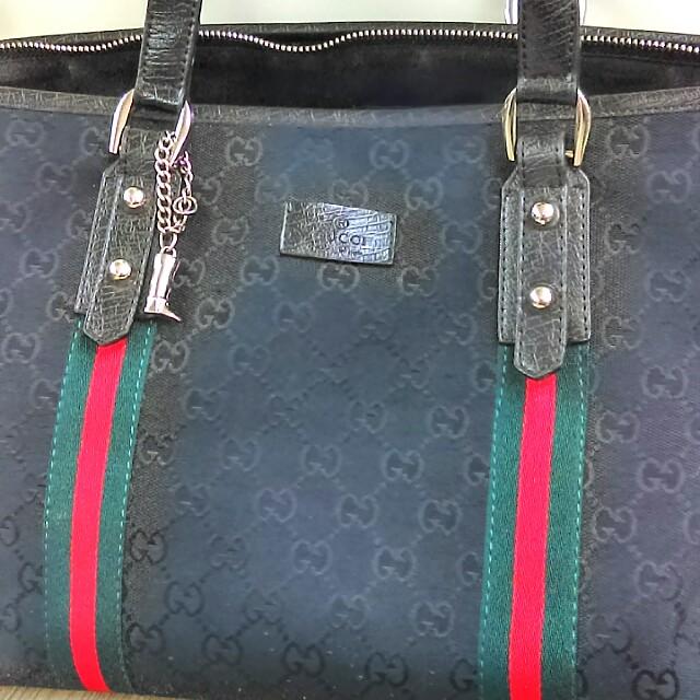 特價 Gucci 近新正品公仔包 托特包中