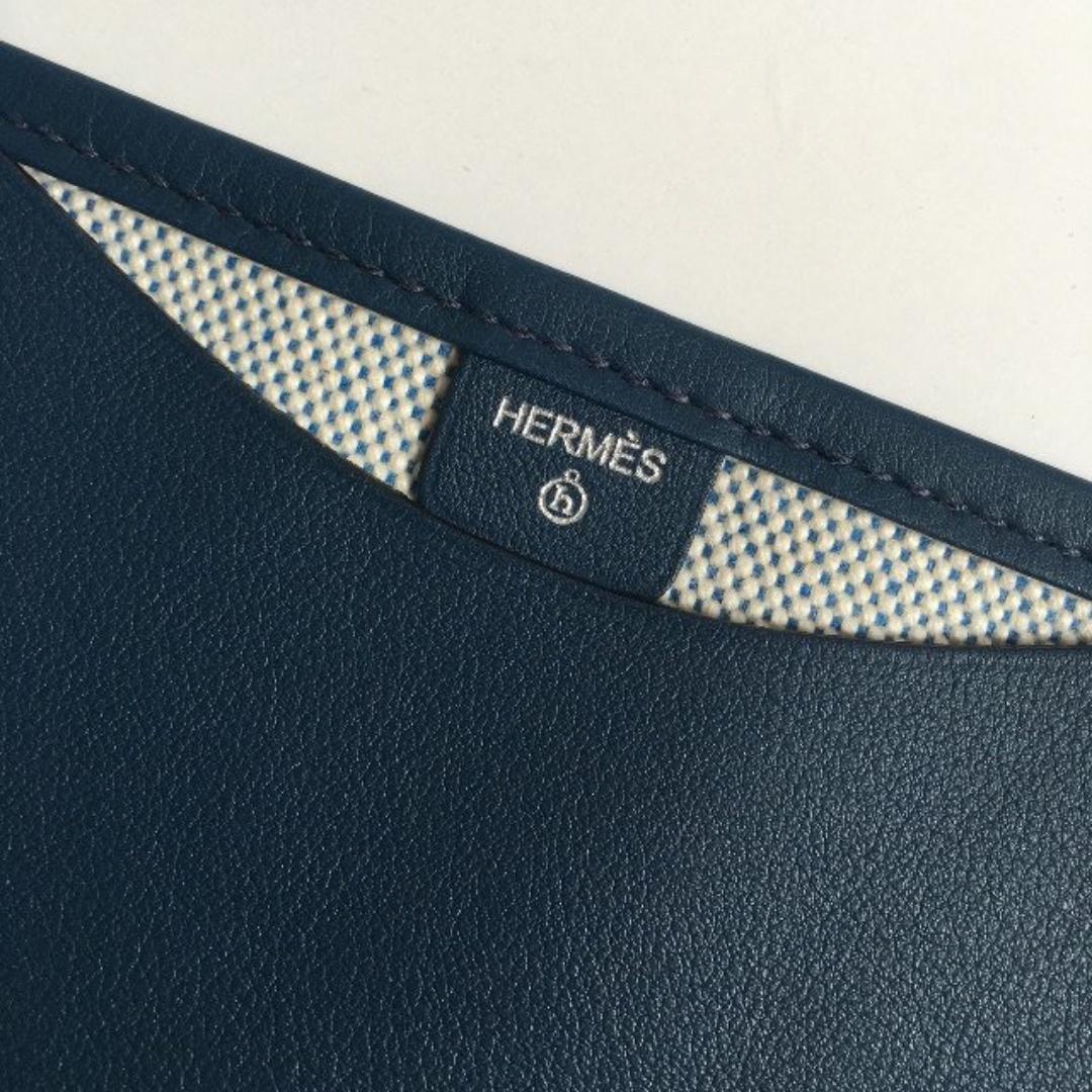 愛馬仕 Hermes Petit h 限量皮革帆布文件夾 全新未使用