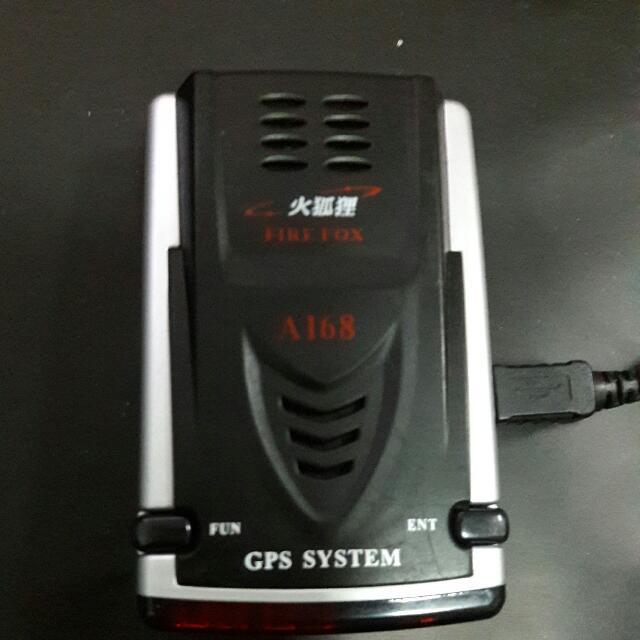 火狐狸A168  GPS測速器