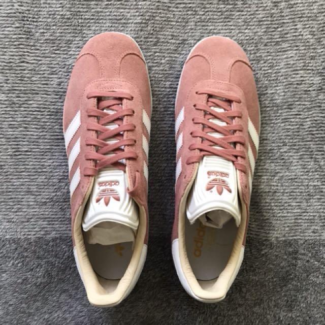 Adidas Blush Pink Gazelle Sneakers