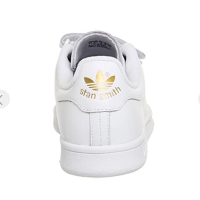Adidas Stan Smith White/Gold Metallic