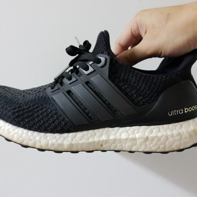 Adidas Ultra Boost 2.0 Core Black US8