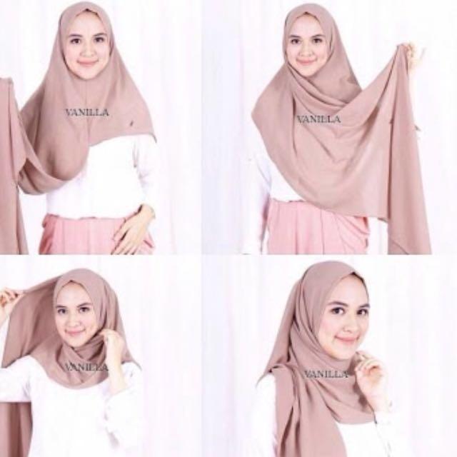 Alma instant Vanilla Hijab Ori