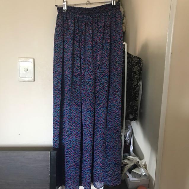 American apparel mesh skirt