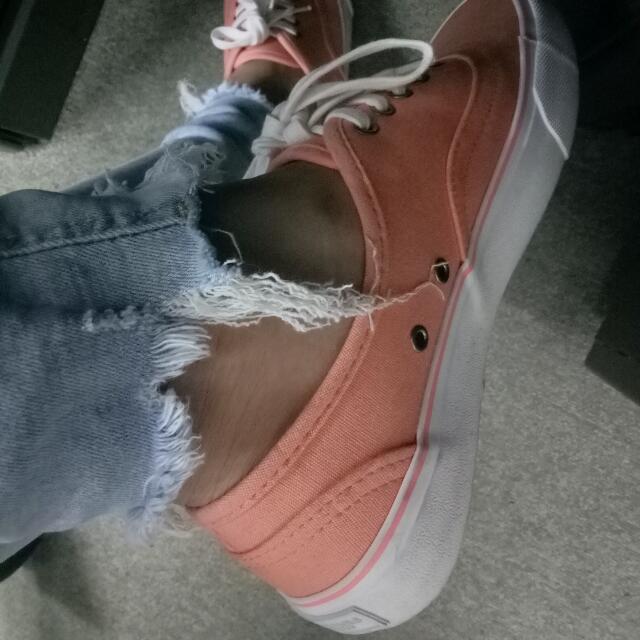 American Eagle   Shoes (light Orange)