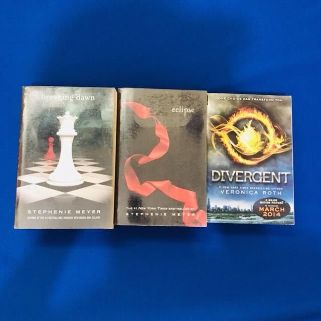 As pack (Breaking dawn, Eclipse, Divergent)