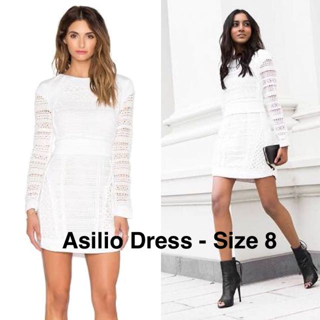 Asilio back with a vengeance dress