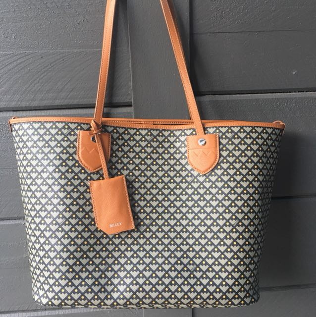 Authentic Bally Bernina Tote Bag